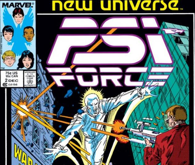 Psi-Force (1986) #2