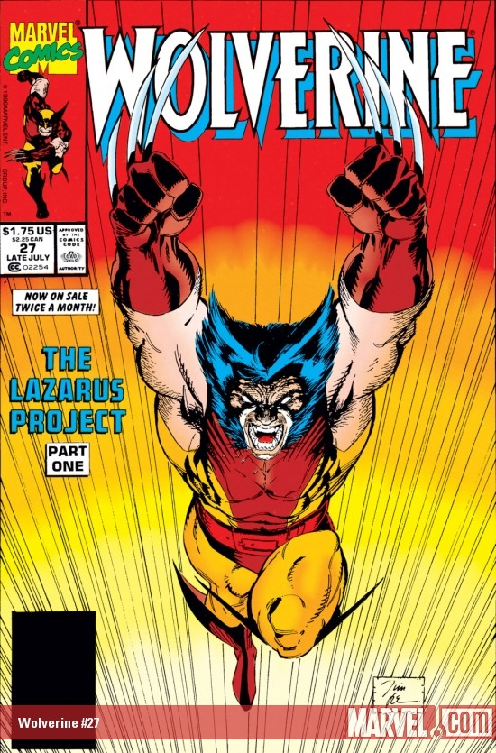 Wolverine (1988) #27
