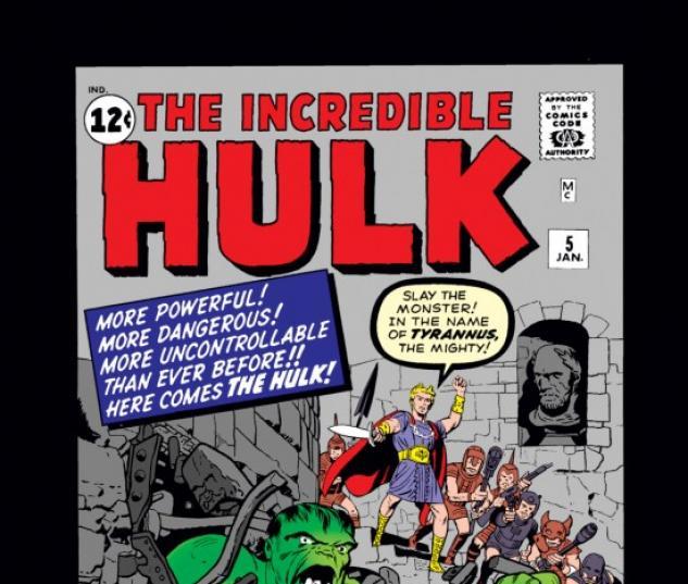 INCREDIBLE HULK #5