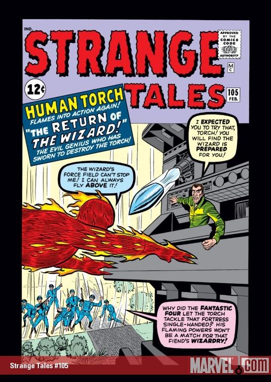 Strange Tales (1951) #105