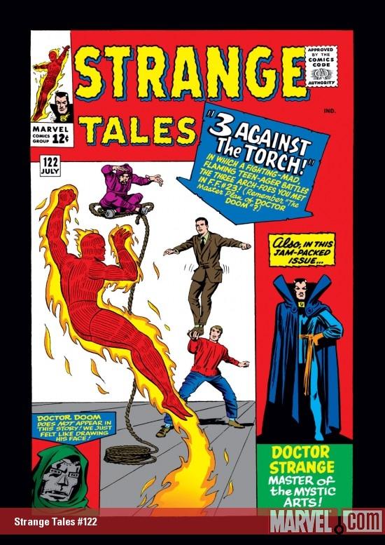 Strange Tales (1951) #122