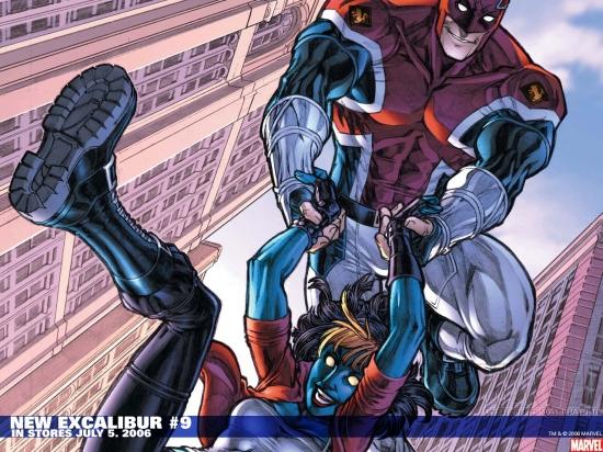 New Excalibur (2006) #9 Wallpaper