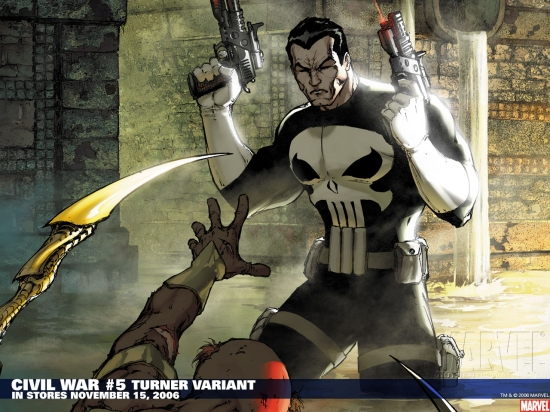Civil War (2006) #5 Wallpaper