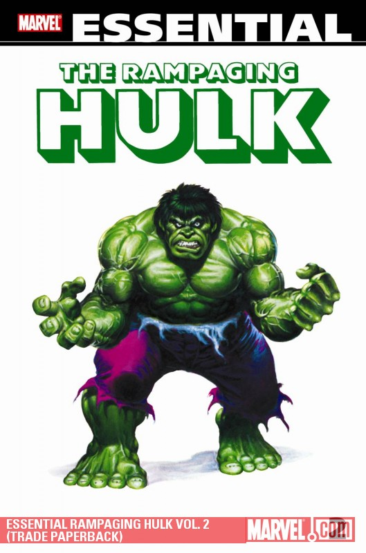 Essential Rampaging Hulk Vol. 2 (Trade Paperback)