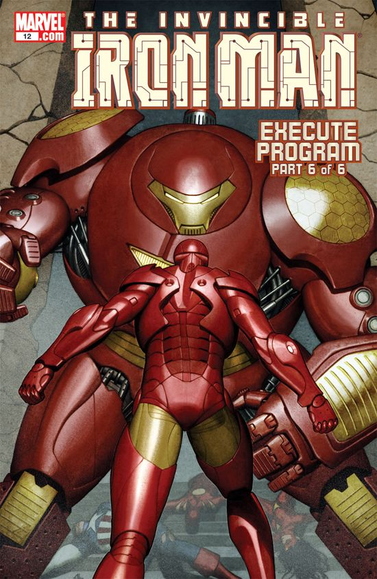 The Invincible Iron Man (2004) #12
