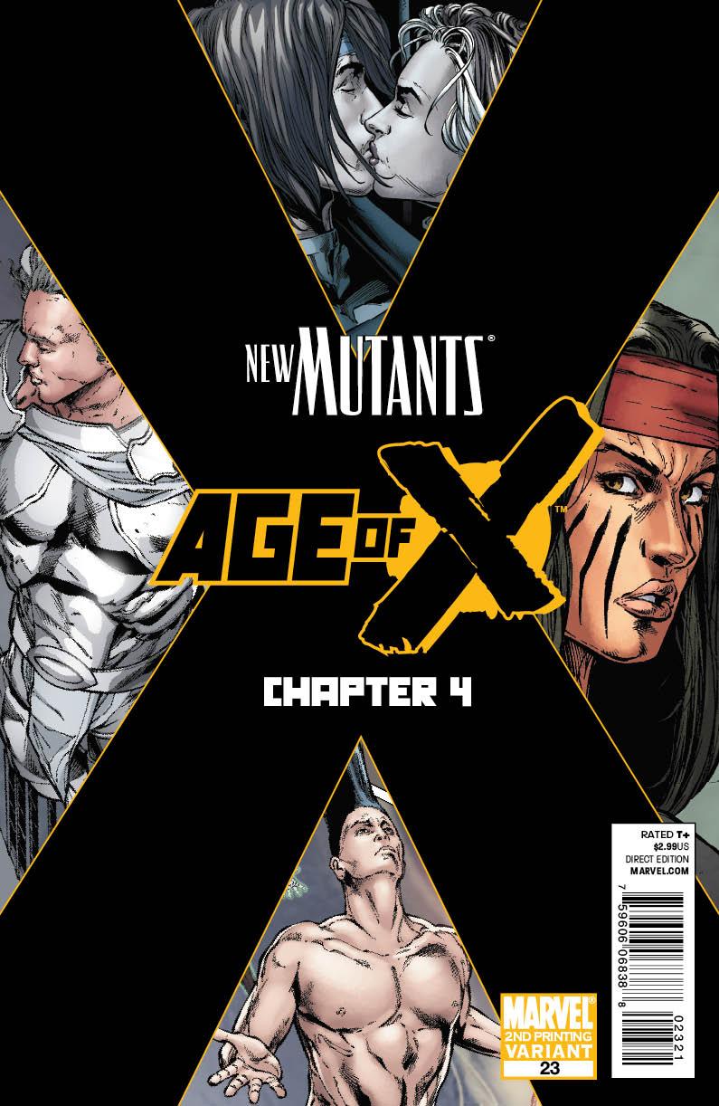 New Mutants (2009) #23 (2nd Printing Variant)
