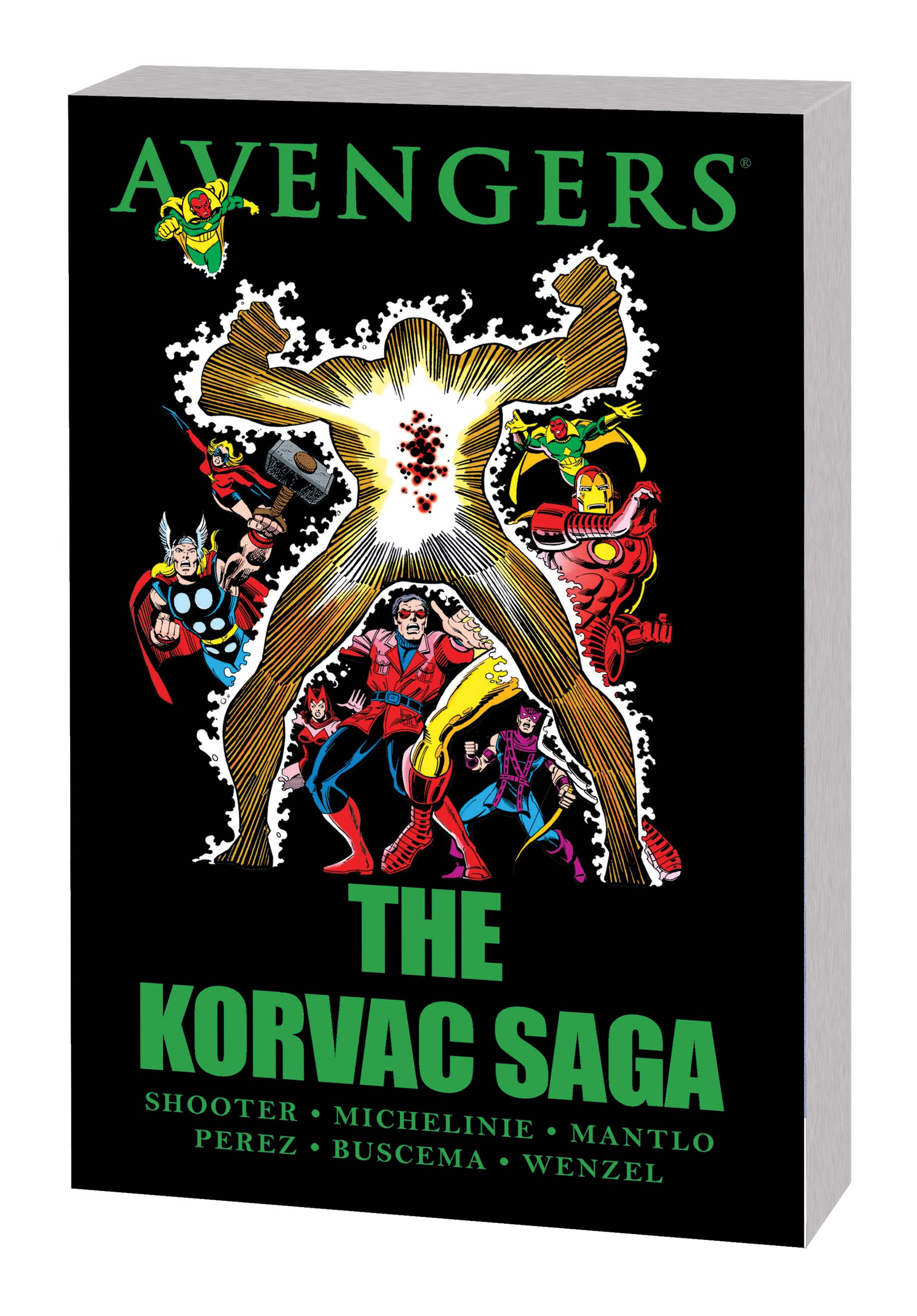 Avengers: The Korvac Saga (New Printing) (Trade Paperback)