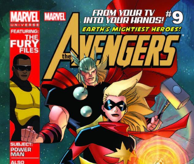 MARVEL UNIVERSE AVENGERS EARTH'S MIGHTIEST HEROES 9