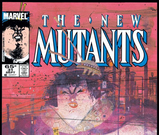 New Mutants (1983) #31 Cover