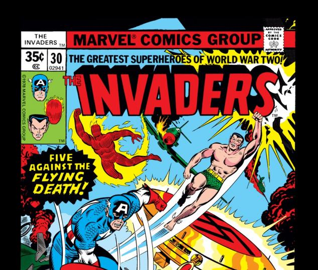 Invaders (1975) #30 Cover