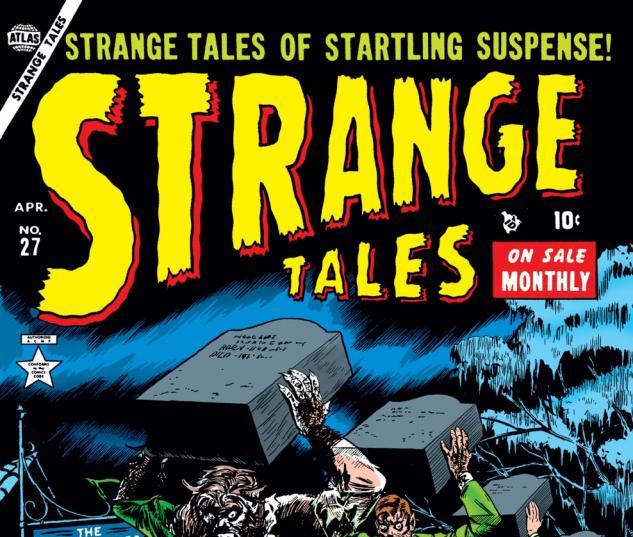 Strange Tales (1951) #27 Cover