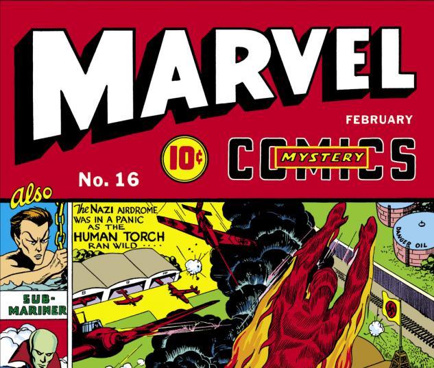 Marvel Mystery Comics (1939) #16 Cover