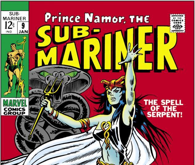 Sub-Mariner (1968) #9 Cover