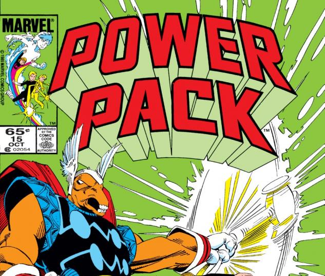 Power Pack (1984) #15 Cover
