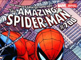 AMAZING SPIDER-MAN 700 QUESADA WRAPAROUND VARIANT