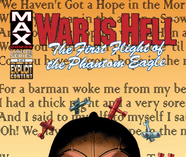Cover from: War Is Hell: The First Flight of the Phantom Eagle (2008) #3