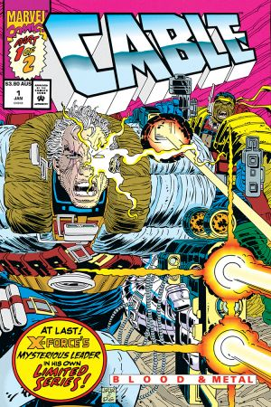 Cable: Blood & Metal #1