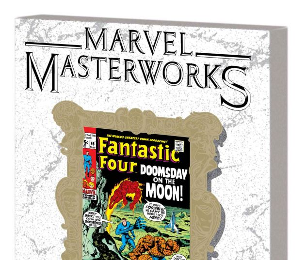 MARVEL MASTERWORKS: THE FANTASTIC FOUR VOL. 10 TPB VARIANT (DM ONLY)