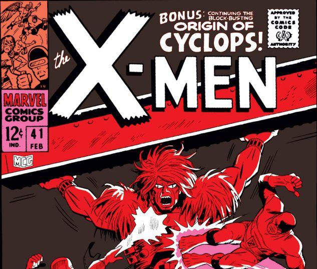Uncanny X-Men (1963) #41 Cover
