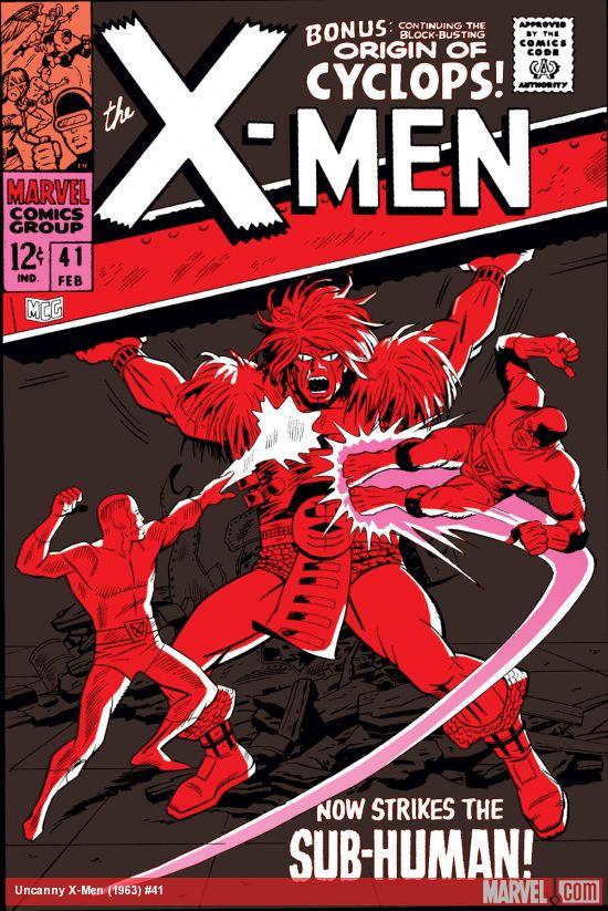 Uncanny X-Men (1963) #41