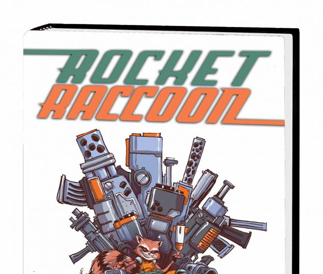 ROCKET RACCOON VOL. 2: STORYTAILER PREMIERE HC (WITH DIGITAL CODE)