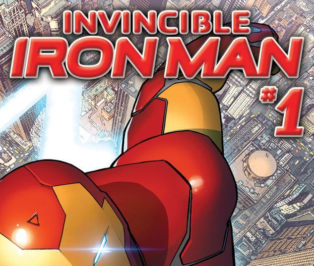 cover Invincible Iron Man (2015) #1