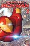 cover Invincible Iron Man (2015) #1