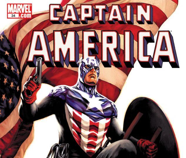 CAPTAIN AMERICA (2004) #34 Cover
