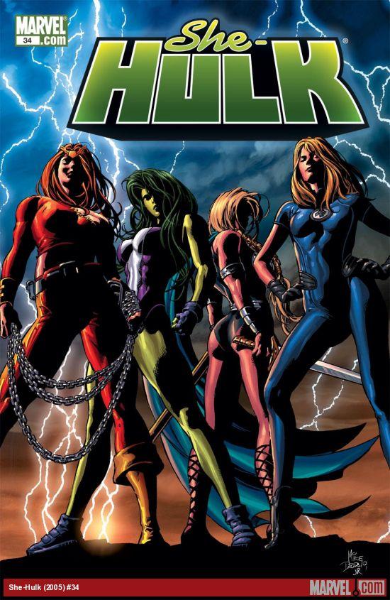 She-Hulk (2005) #34