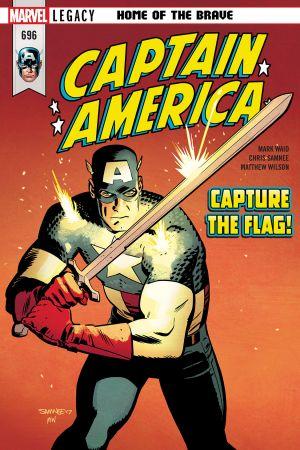 Captain America (2017) #696