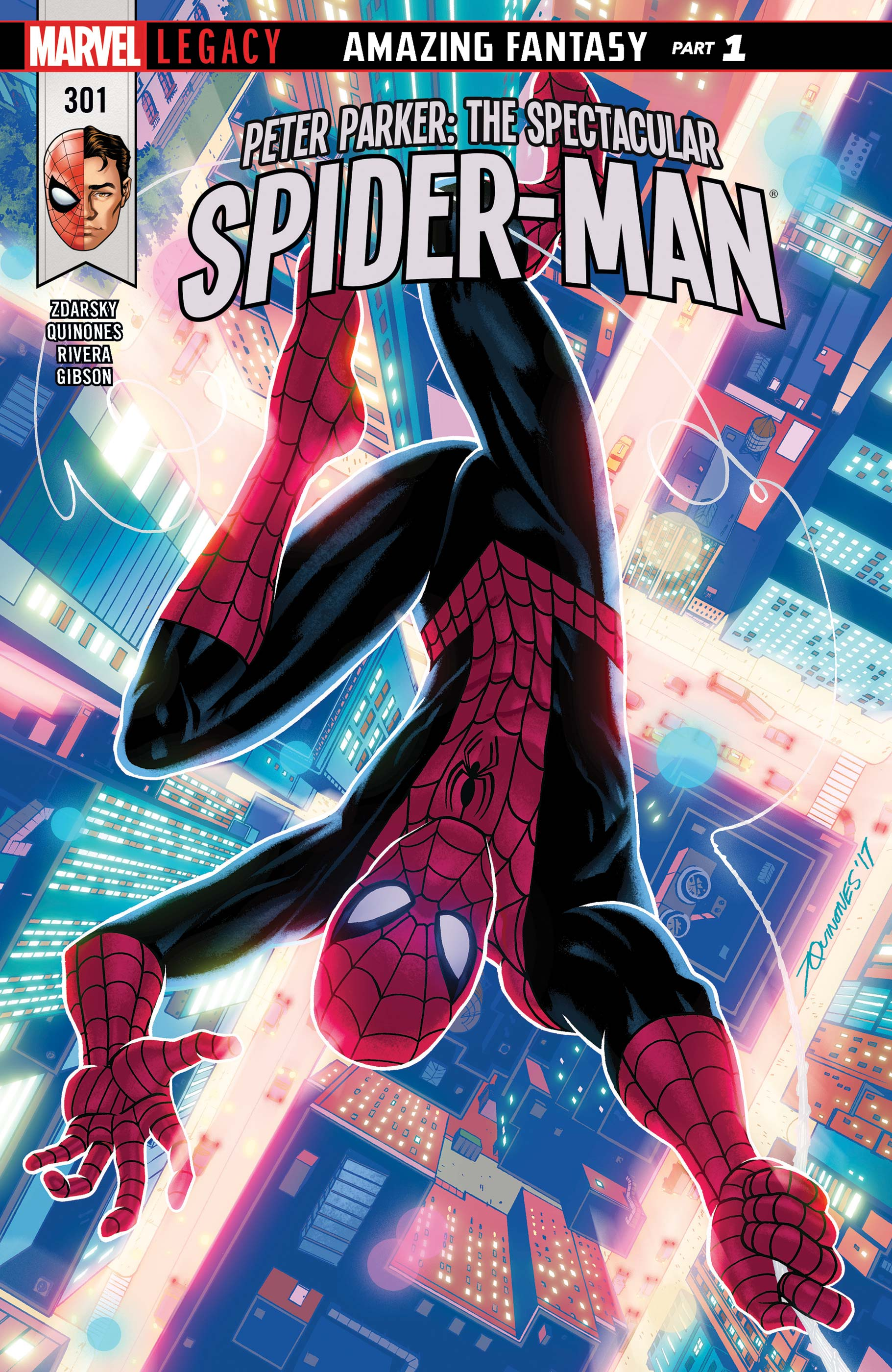 Peter Parker: The Spectacular Spider-Man (2017) #301
