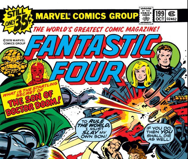 FANTASTIC FOUR (1961) #199