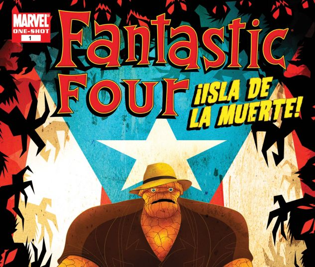 Fantastic Four: Isla De La Muerte! (2007) #1