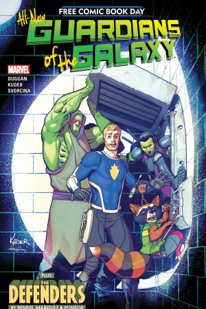 Free Comic Book Day (All-New Guardians of the Galaxy) #0