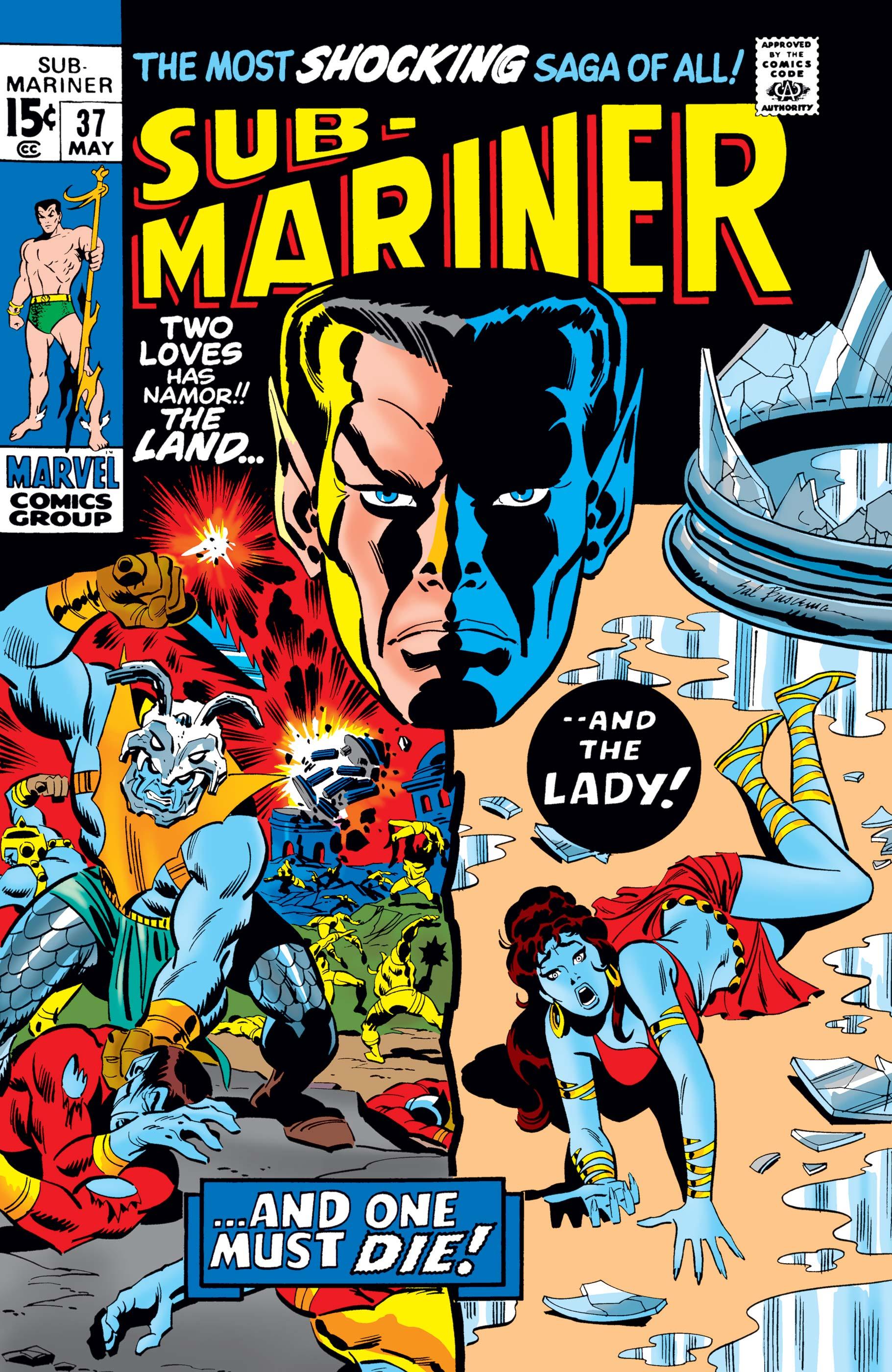 Sub-Mariner (1968) #37