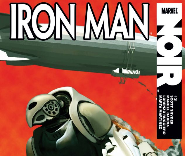 IRON MAN NOIR (2010) #3