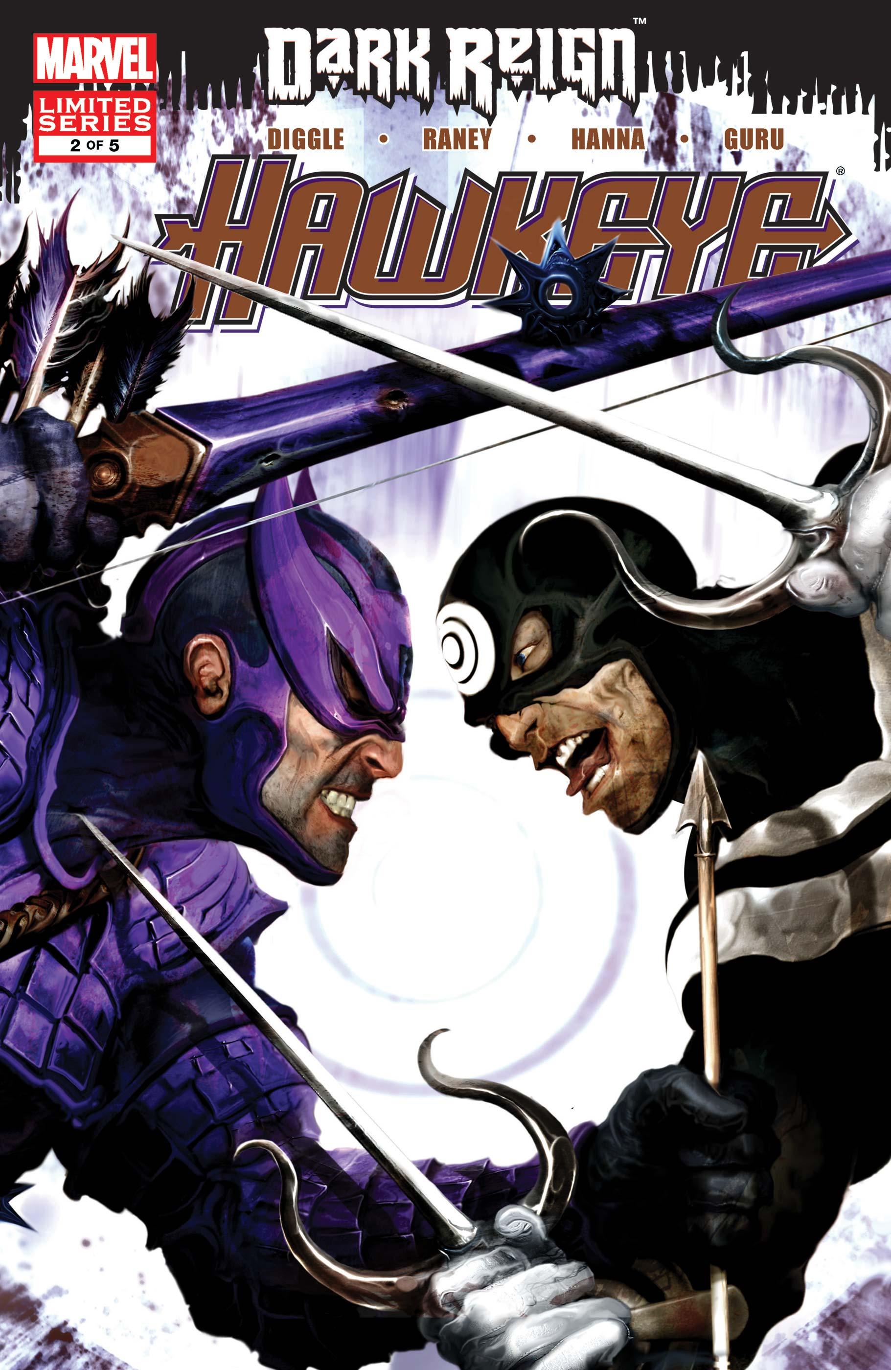 Dark Reign: Hawkeye (2009) #2
