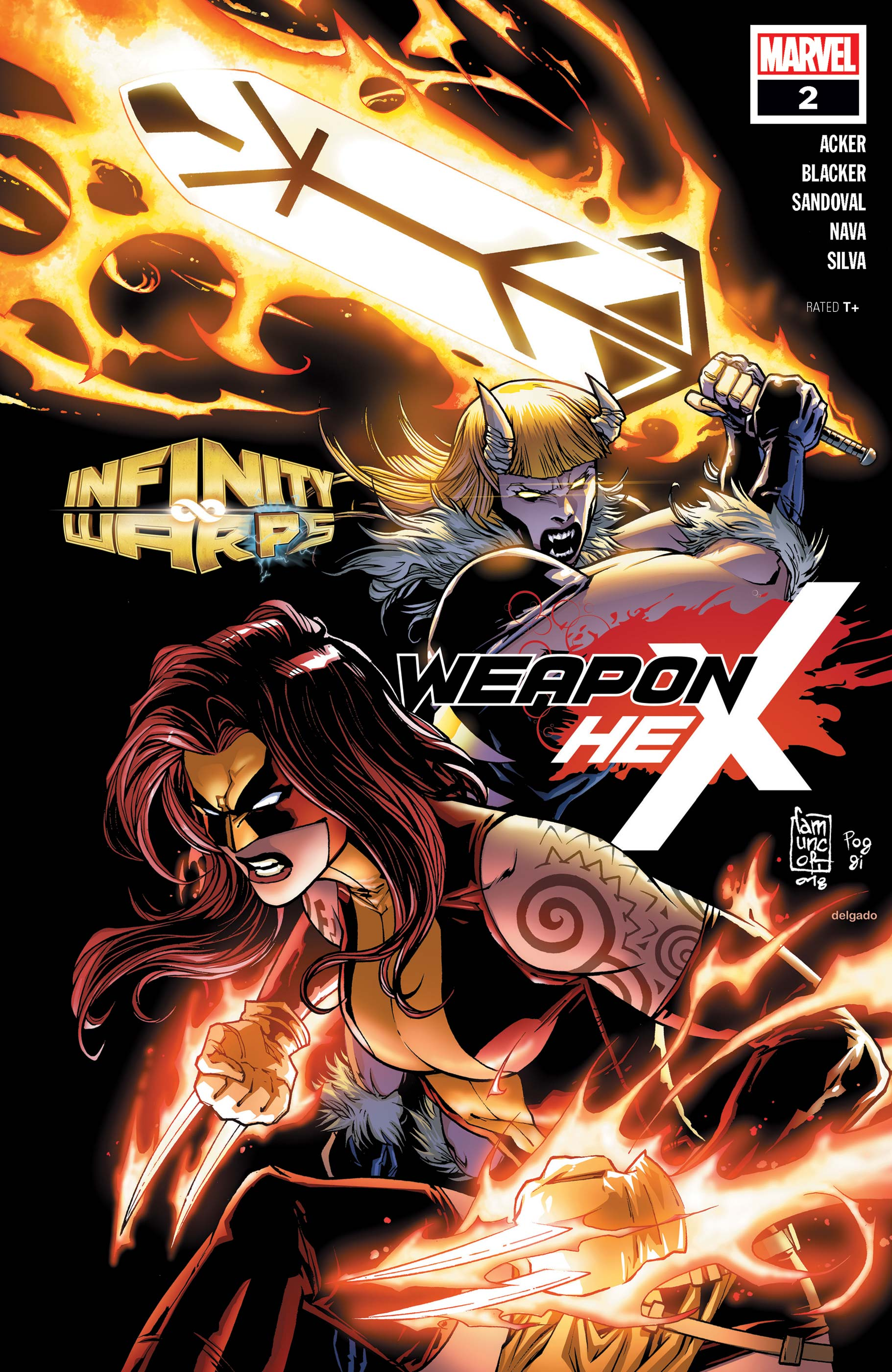 Infinity Wars: Weapon Hex (2018) #2