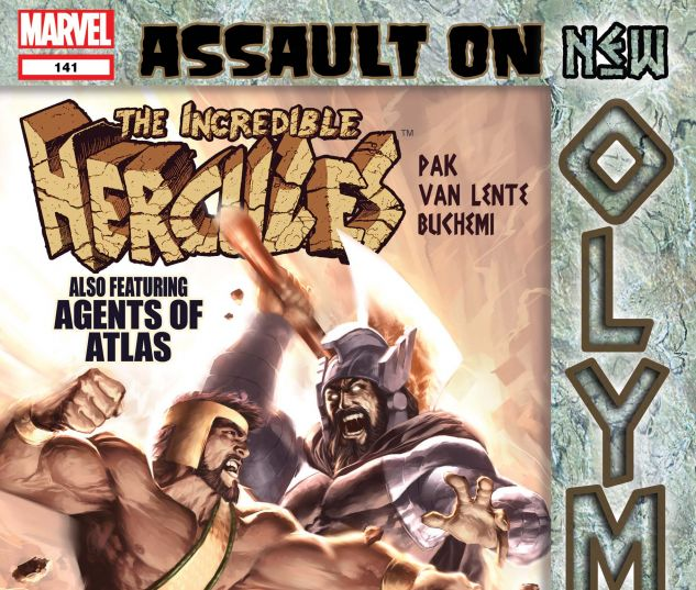 Incredible Hercules (2008) #141