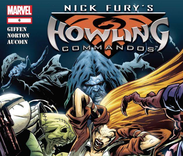 NICK FURY'S HOWLING COMMANDOS (2005) #6