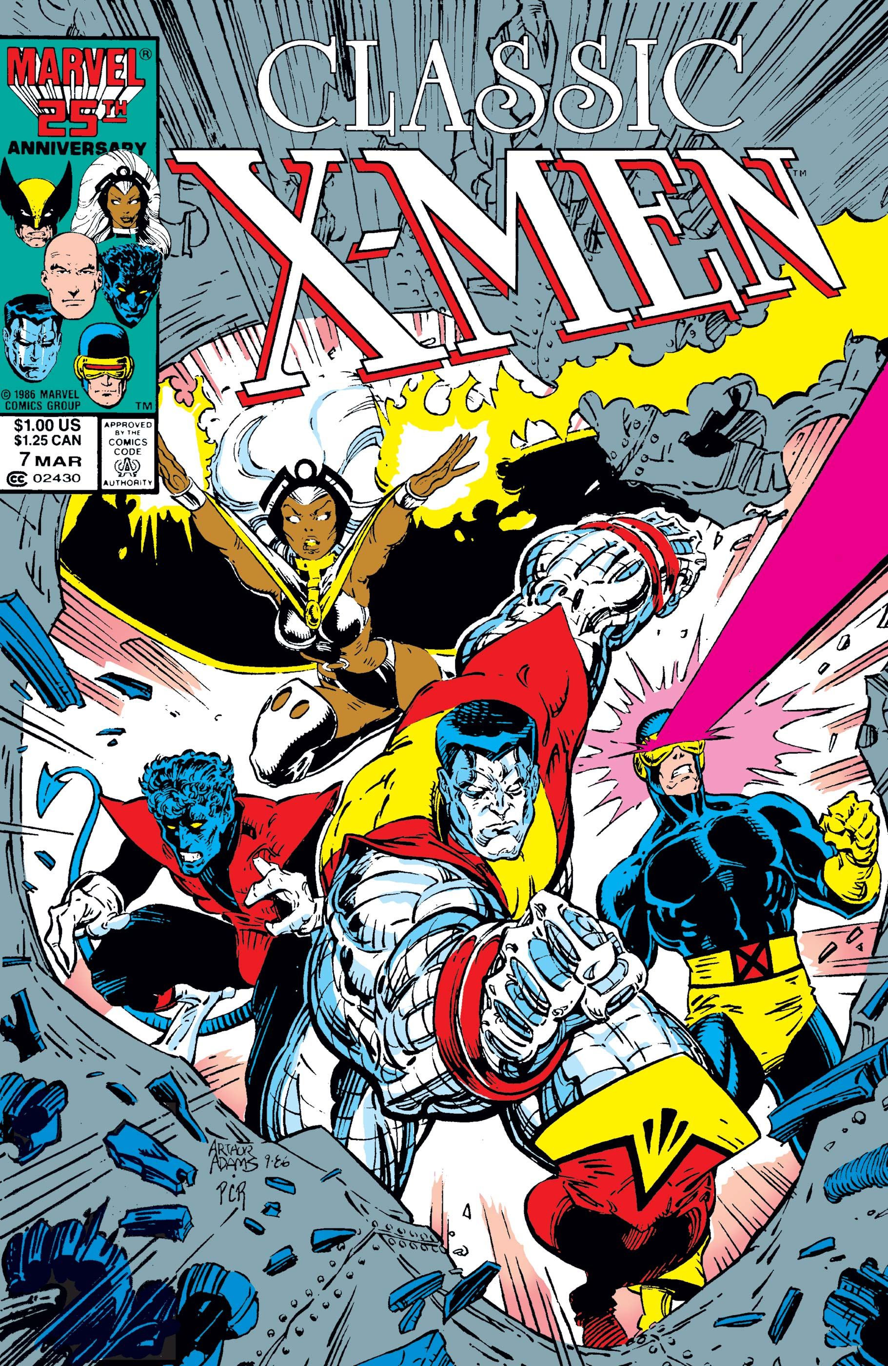 Classic X-Men (1986) #7