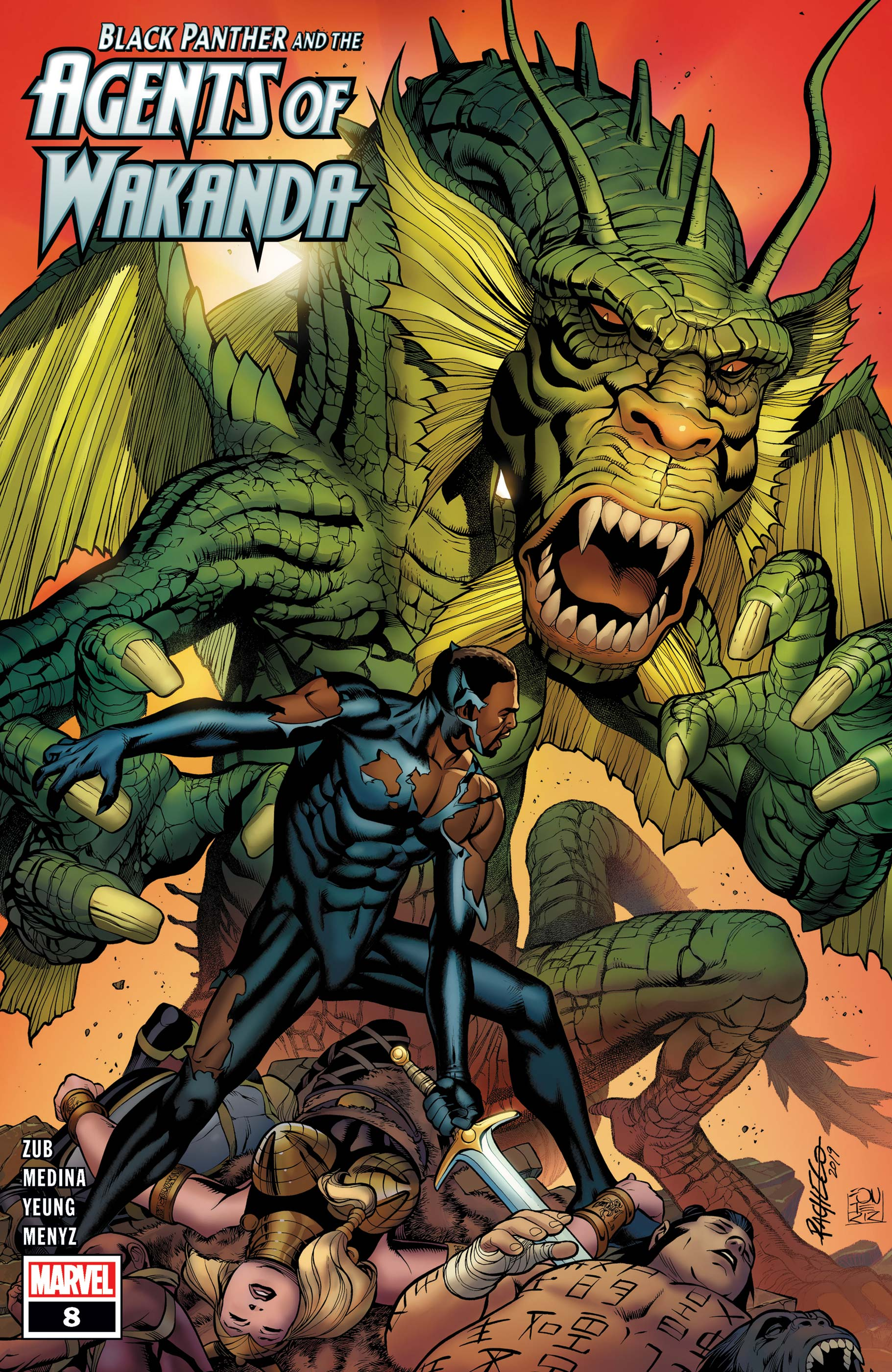 Black Panther and the Agents of Wakanda (2019) #8 | Comic Issues ...