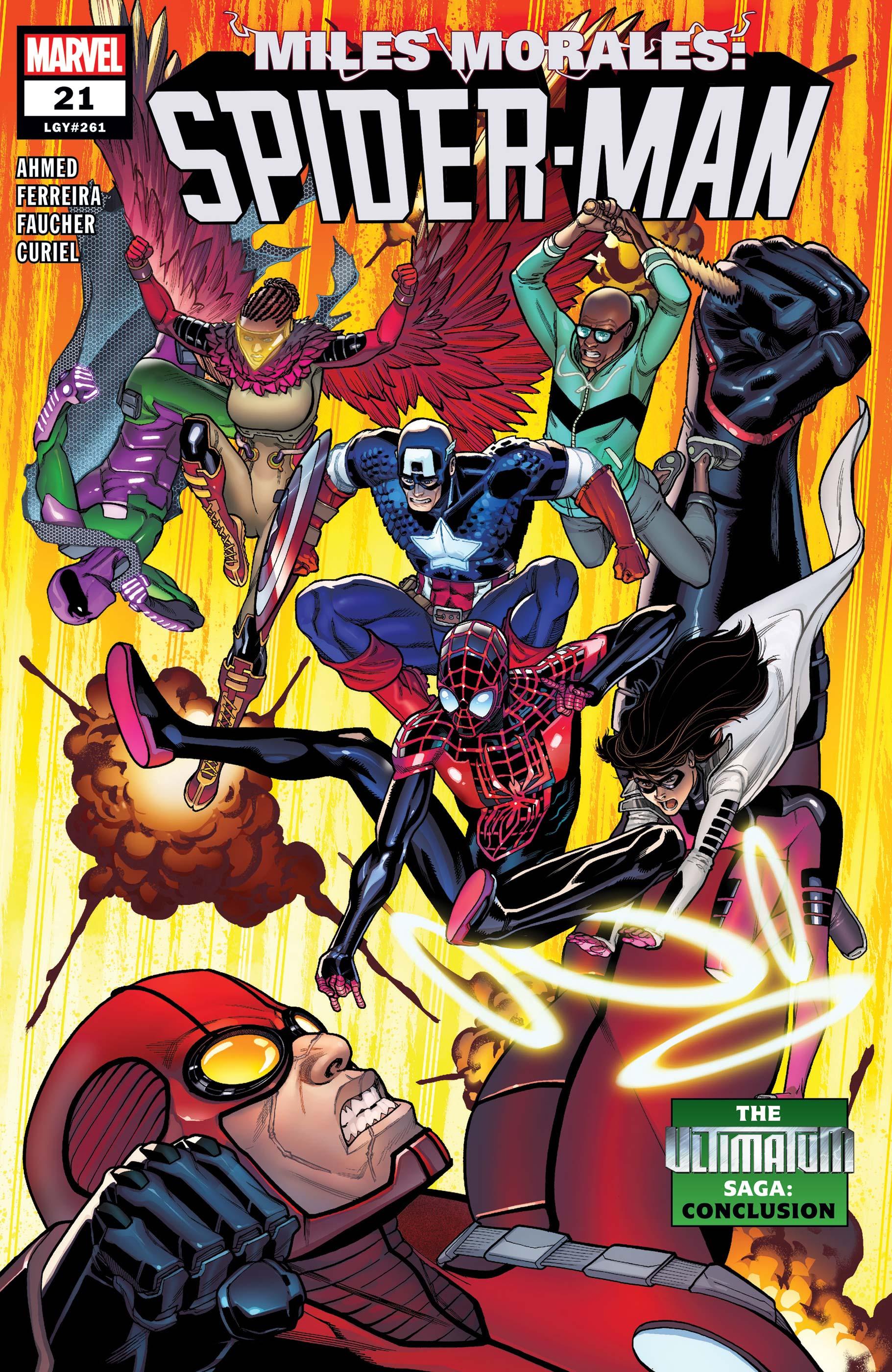 Miles Morales: Spider-Man (2018) #21