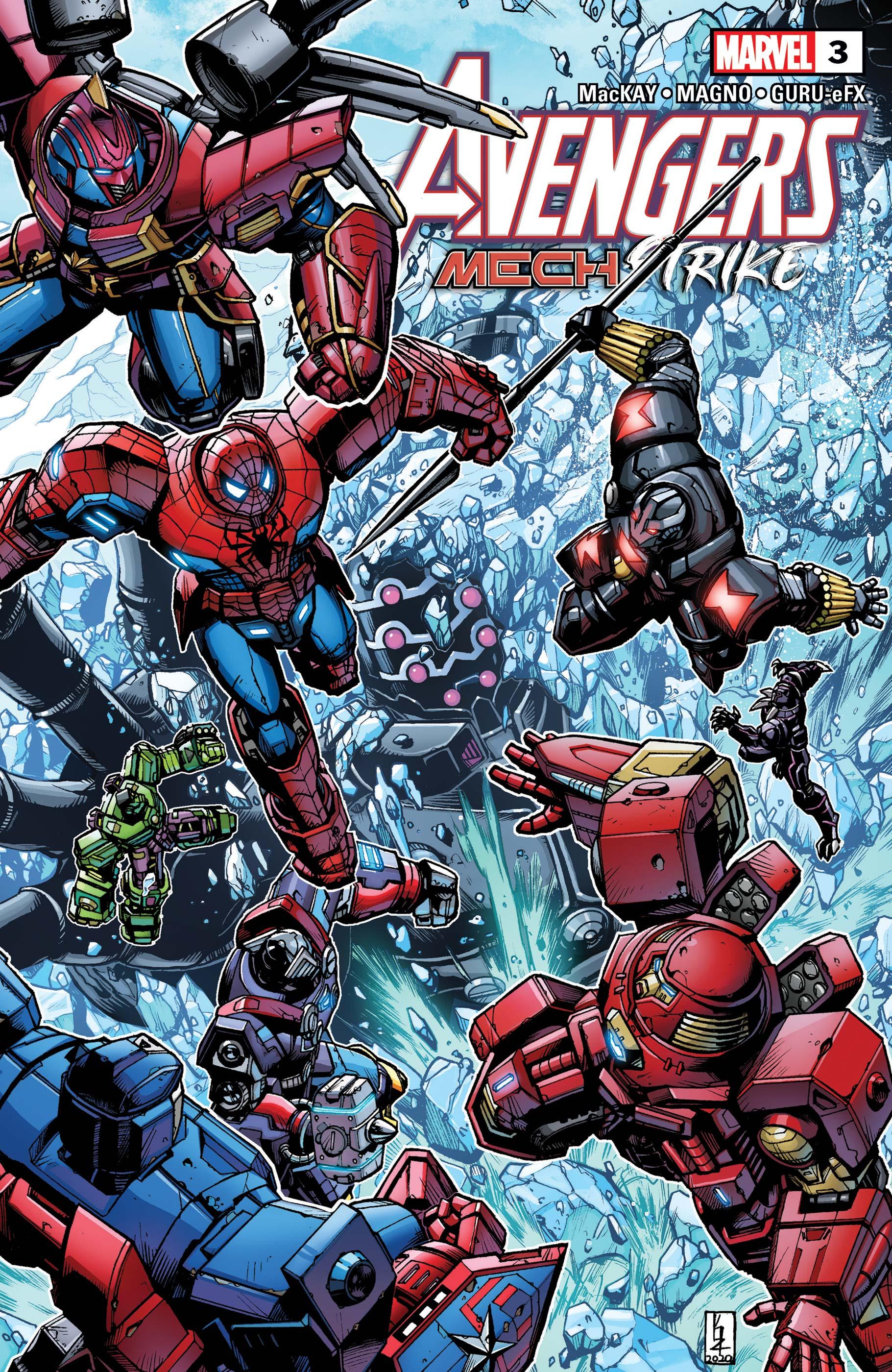 Avengers Mech Strike (2021) #3