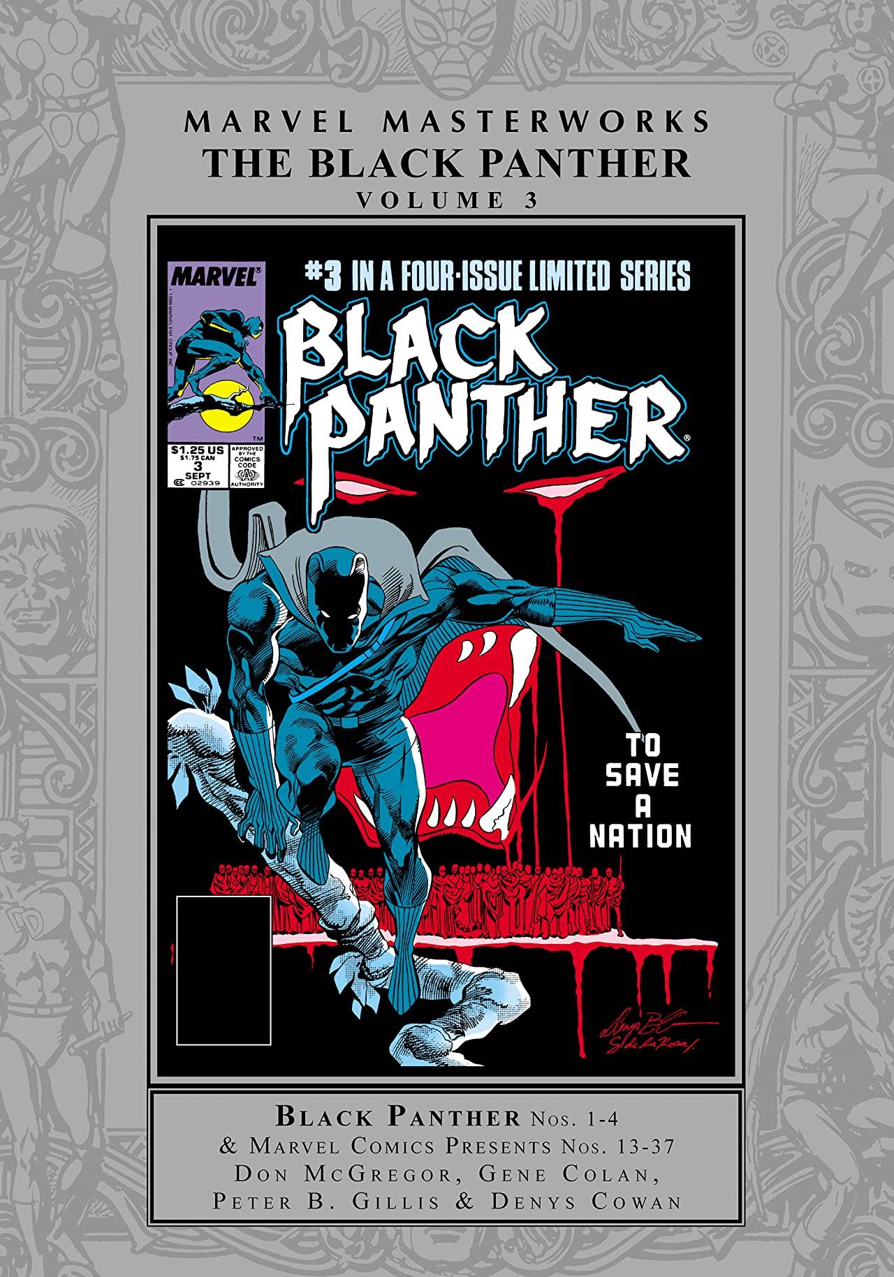 Marvel Masterworks: The Black Panther Vol. 3 (Hardcover)