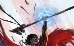 Doctor Voodoo: Avenger of the Supernatural #1 cover by Marko Djurdjevic