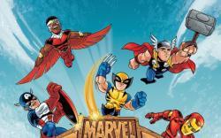 Marvel Super Hero Squad #1 cover