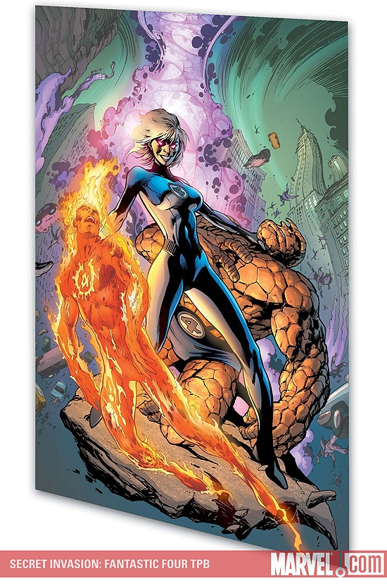 Secret Invasion: Fantastic Four (Trade Paperback)