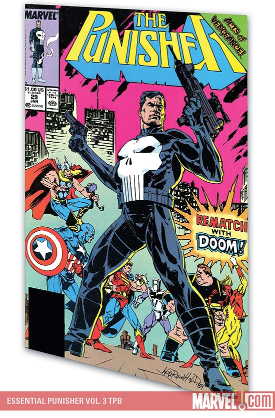 Essential Punisher Vol. 3 (Trade Paperback)