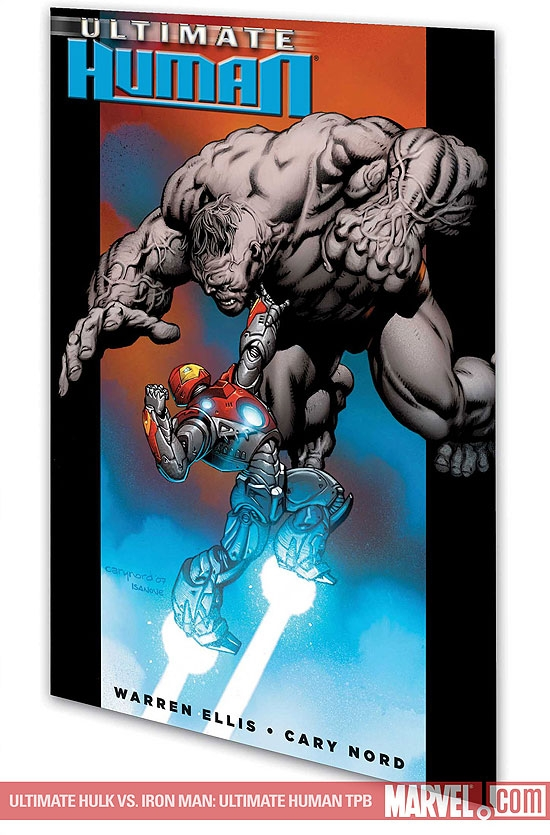 Ultimate Hulk Vs. Iron Man: Ultimate Human (Trade Paperback)
